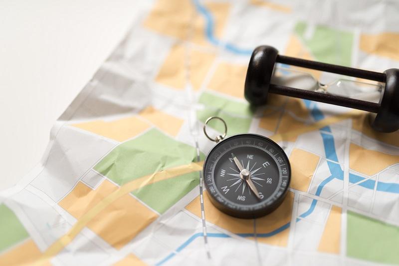 ■地図は撮影用にデザインした架空のものです。
